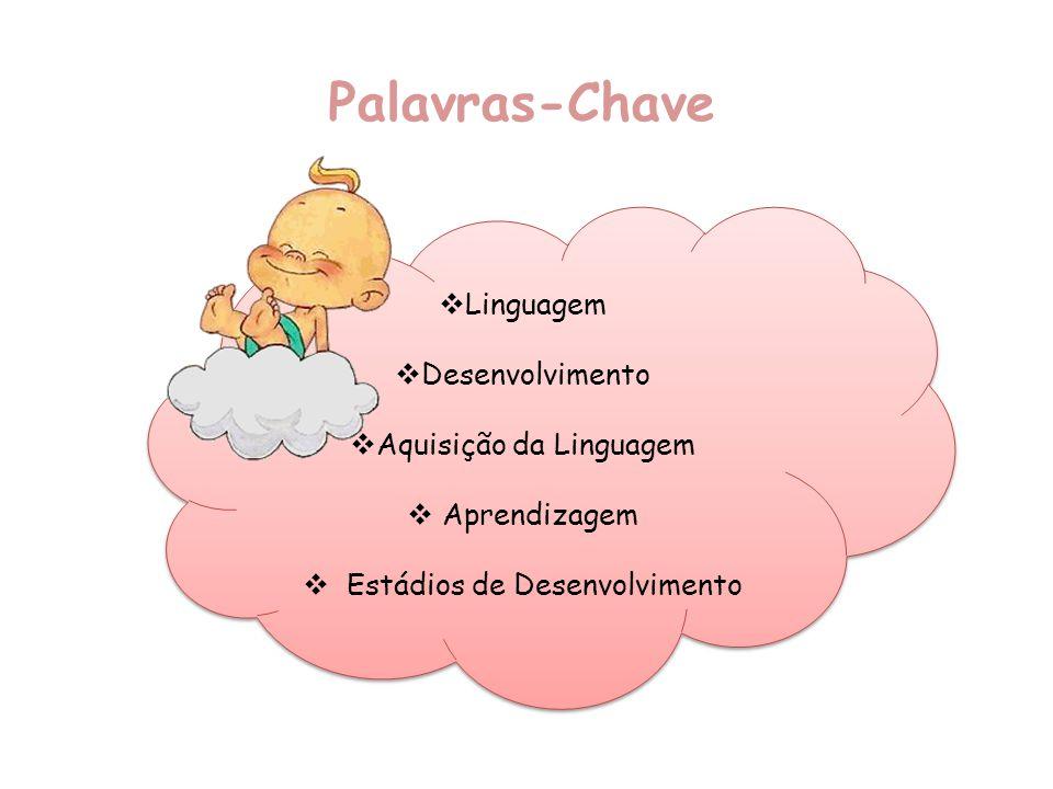 Palavras-Chave Linguagem Desenvolvimento Aquisição da Linguagem