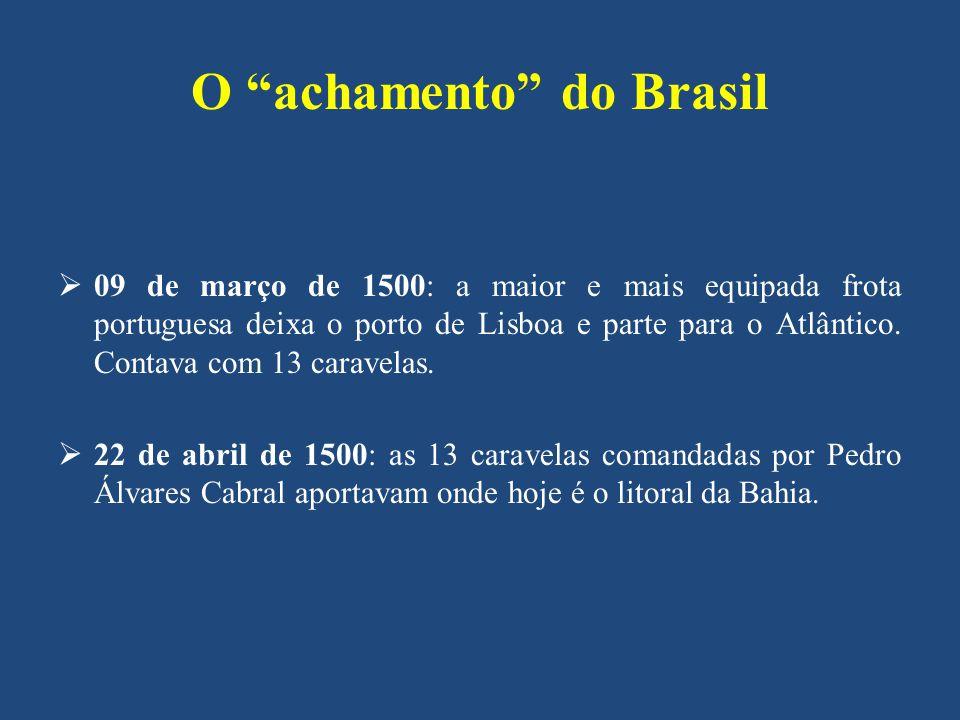O achamento do Brasil