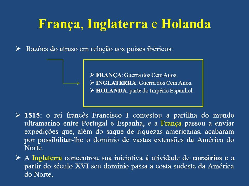 França, Inglaterra e Holanda