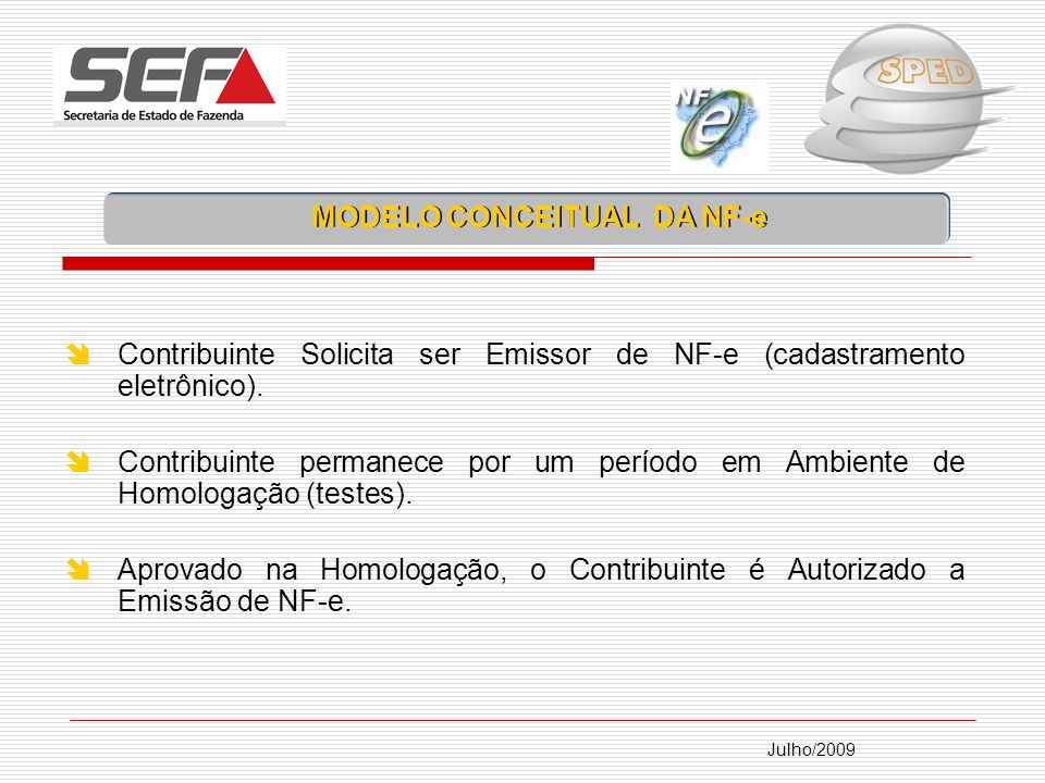 MODELO CONCEITUAL DA NF-e