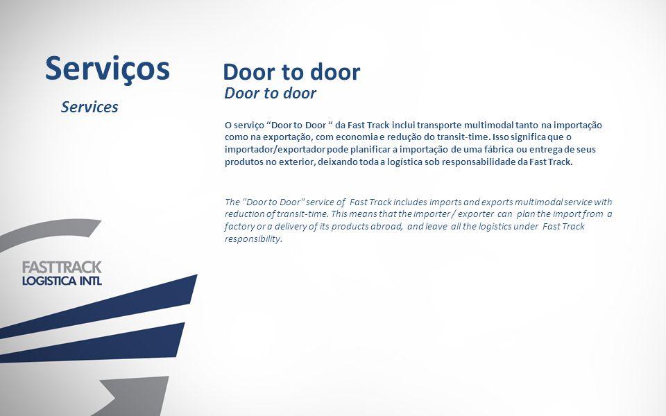Serviços Door to door Door to door Services