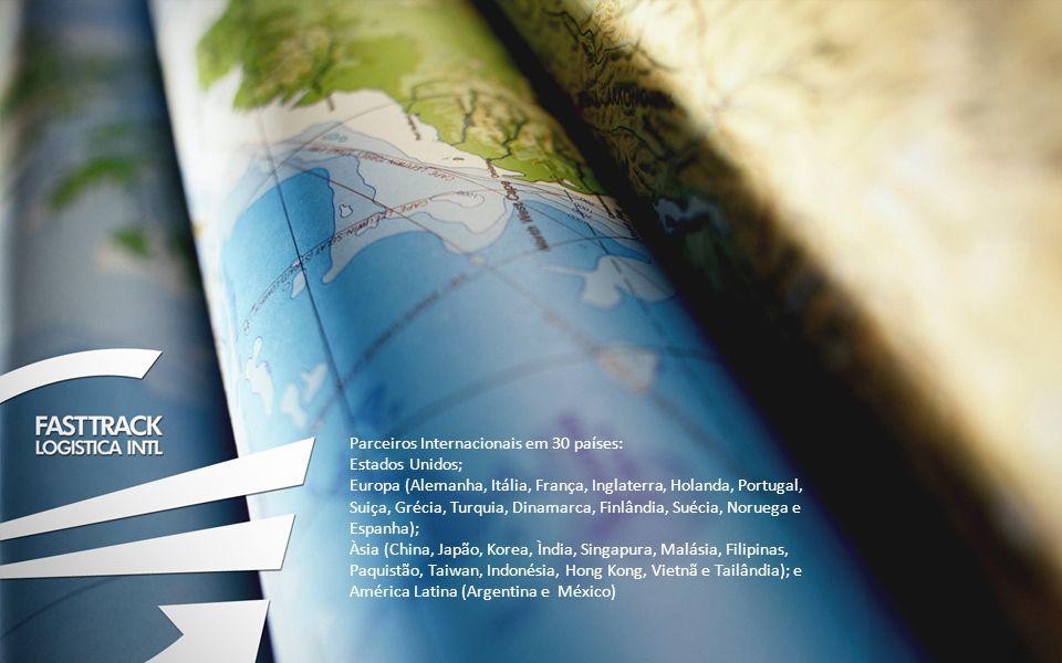 Parceiros Internacionais em 30 países: