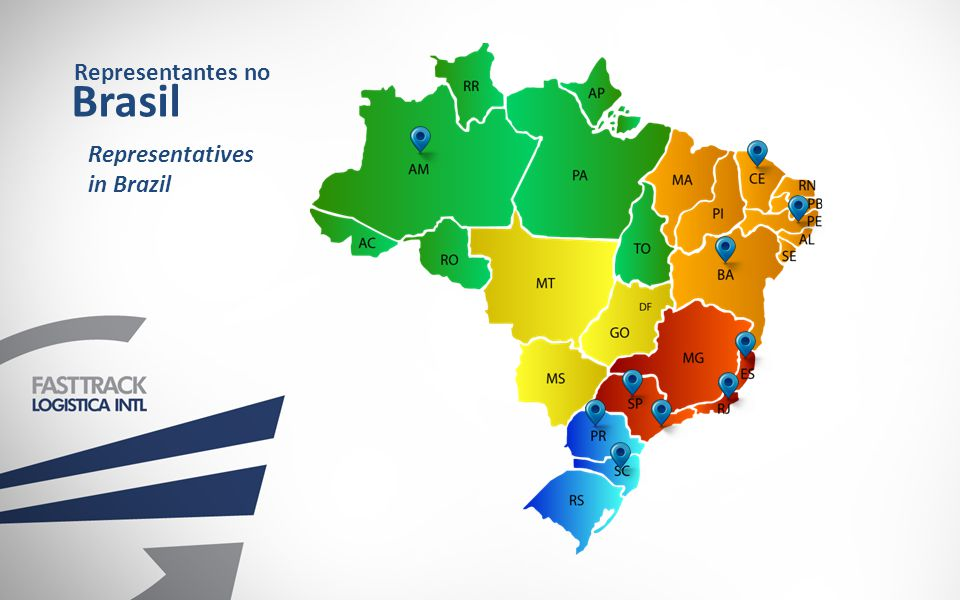 Representantes no Brasil Representatives in Brazil