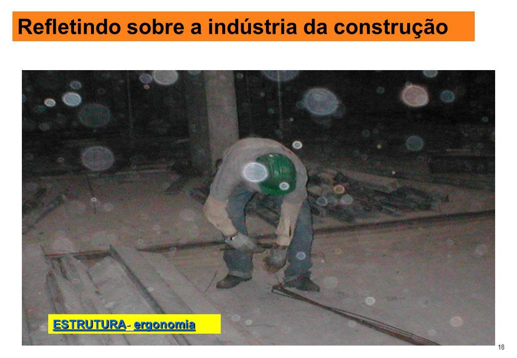 Refletindo sobre a industria da construção