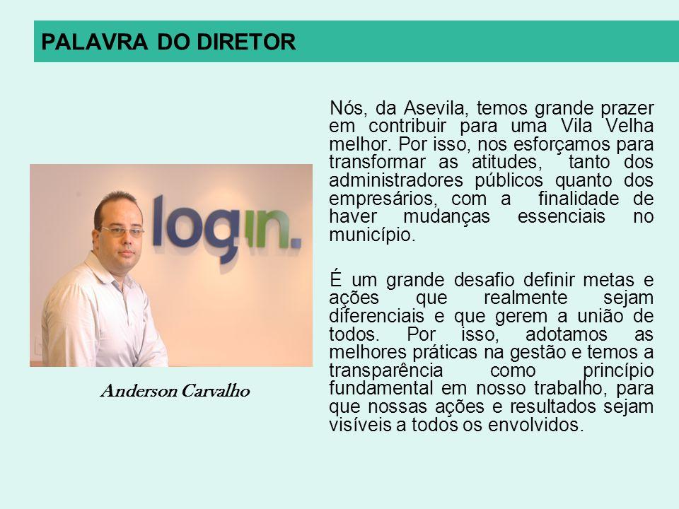 PALAVRA DO DIRETOR