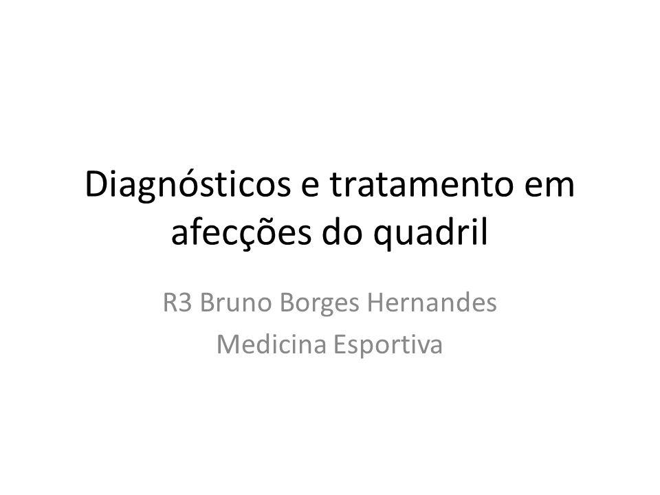 Diagnósticos e tratamento em afecções do quadril