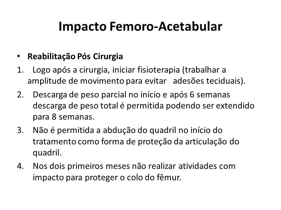 Impacto Femoro-Acetabular