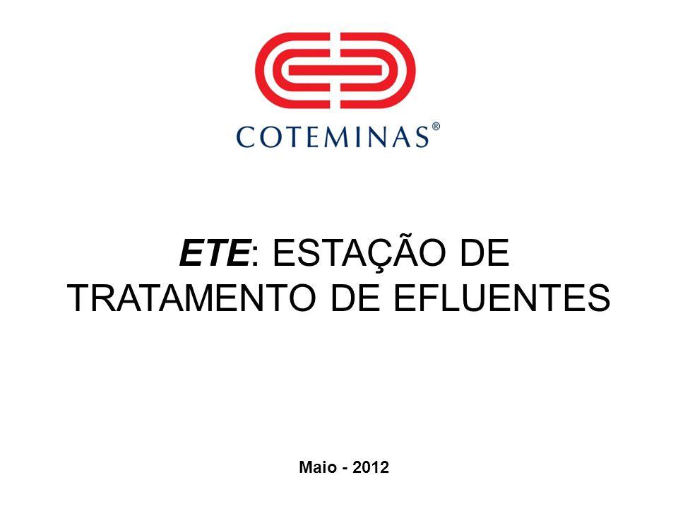 ETE: ESTAÇÃO DE TRATAMENTO DE EFLUENTES
