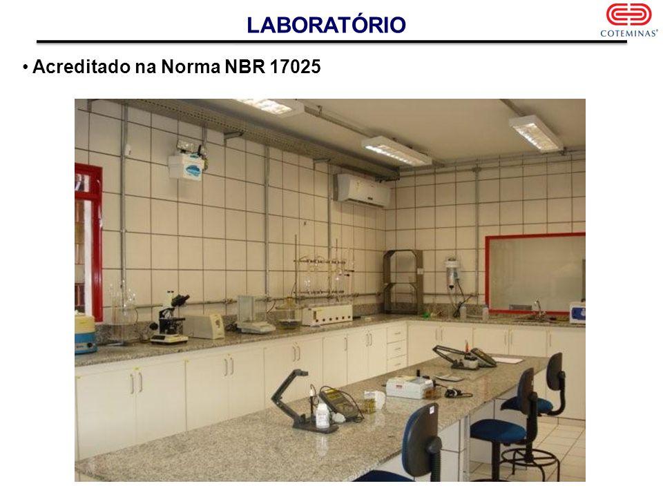 LABORATÓRIO Acreditado na Norma NBR 17025
