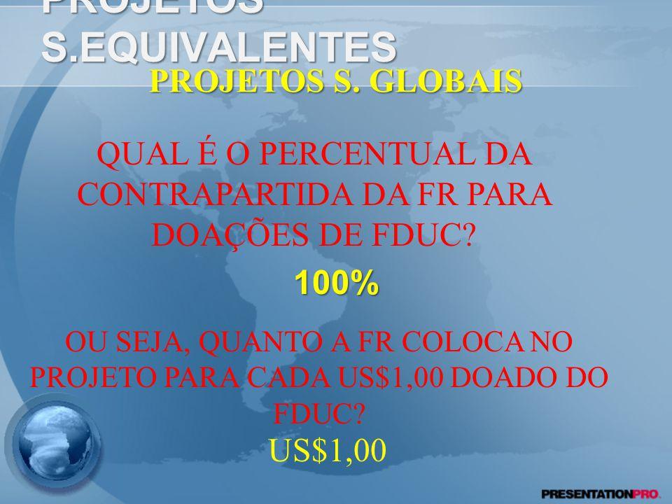 PROJETOS S.EQUIVALENTES