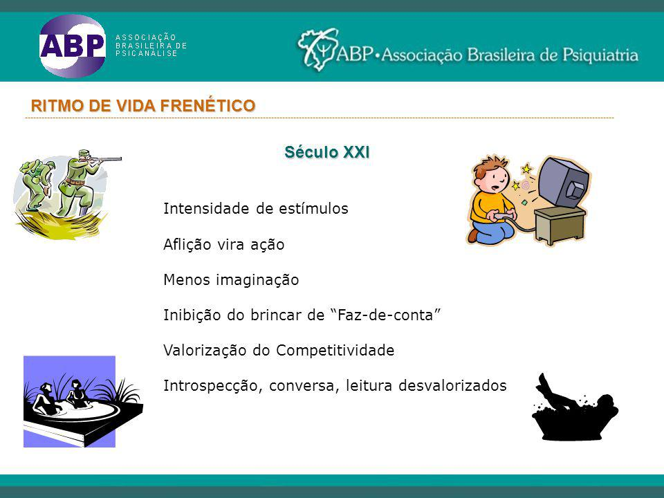 RITMO DE VIDA FRENÉTICO
