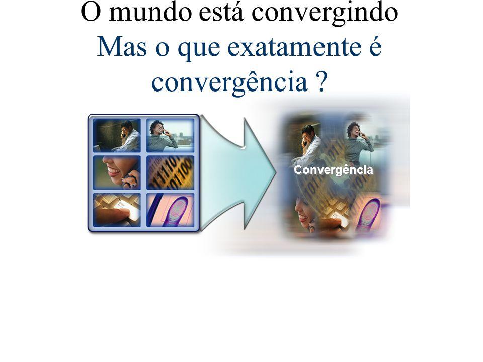O mundo está convergindo Mas o que exatamente é convergência