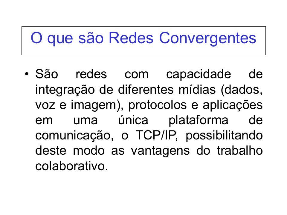 O que são Redes Convergentes