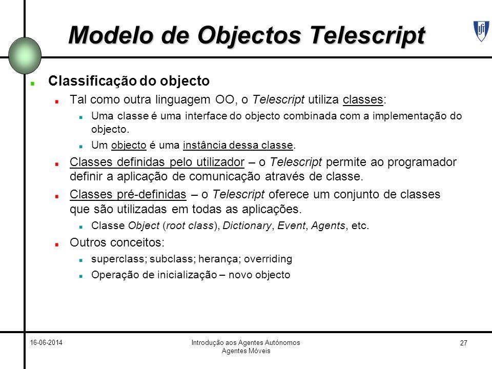 Modelo de Objectos Telescript