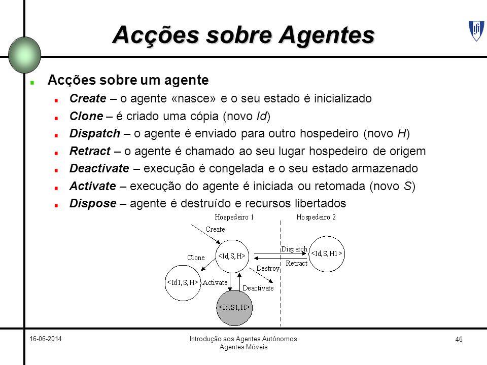 Introdução aos Agentes Autónomos