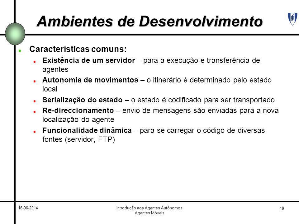 Ambientes de Desenvolvimento