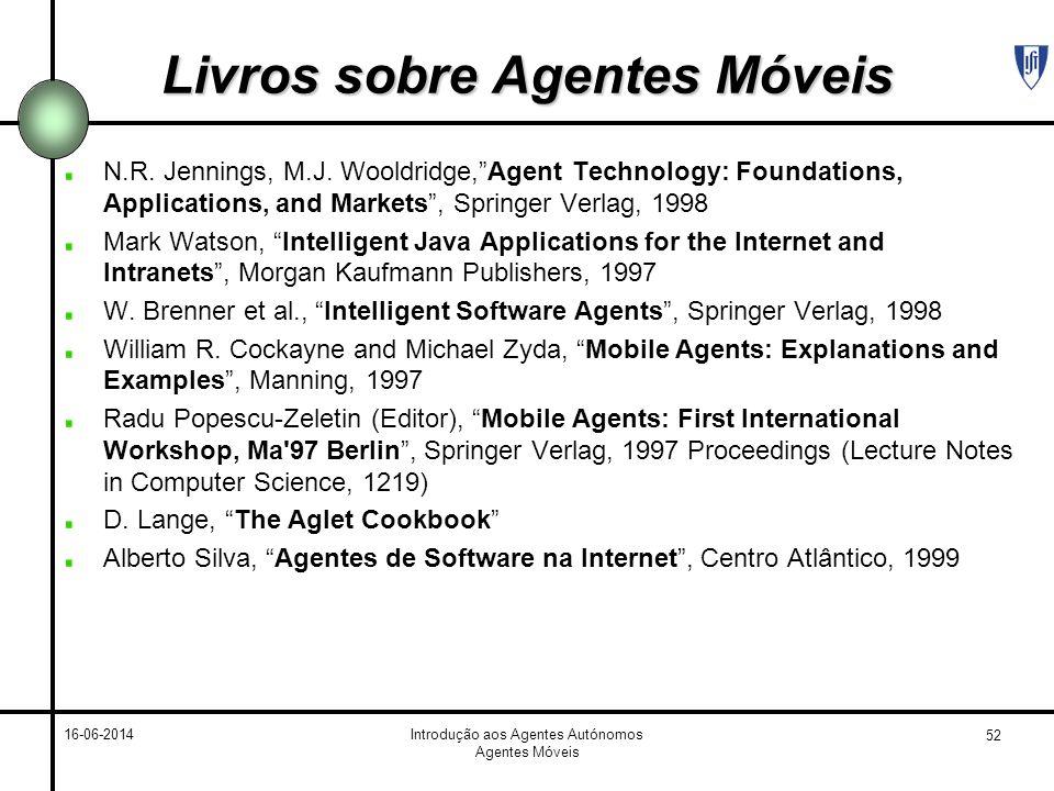 Livros sobre Agentes Móveis