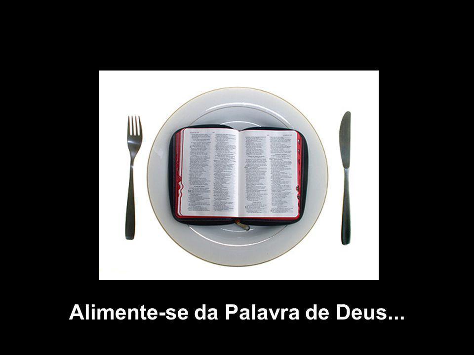 Alimente-se da Palavra de Deus...