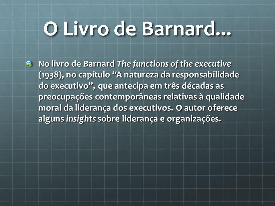 O Livro de Barnard...