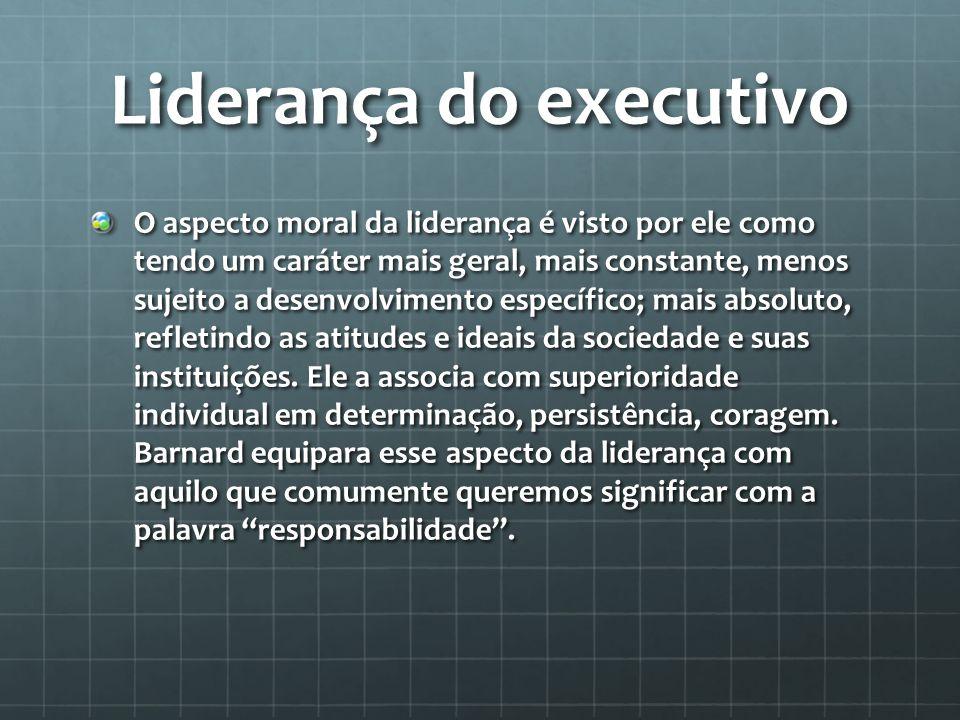 Liderança do executivo