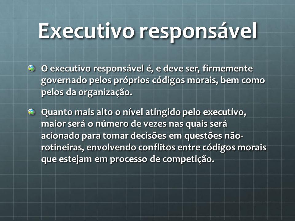 Executivo responsável