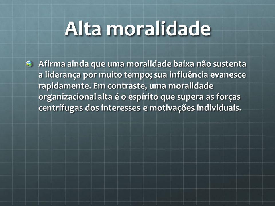 Alta moralidade