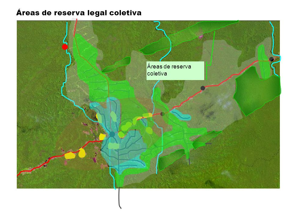 Áreas de reserva legal coletiva