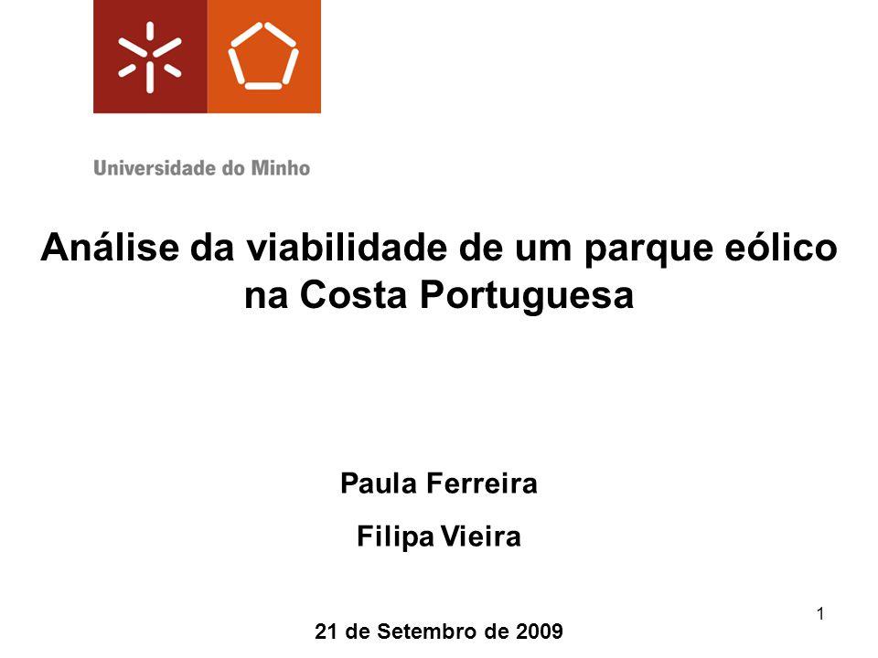 Análise da viabilidade de um parque eólico na Costa Portuguesa