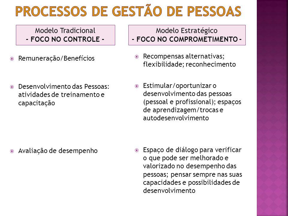 Processos de gestão de pessoas