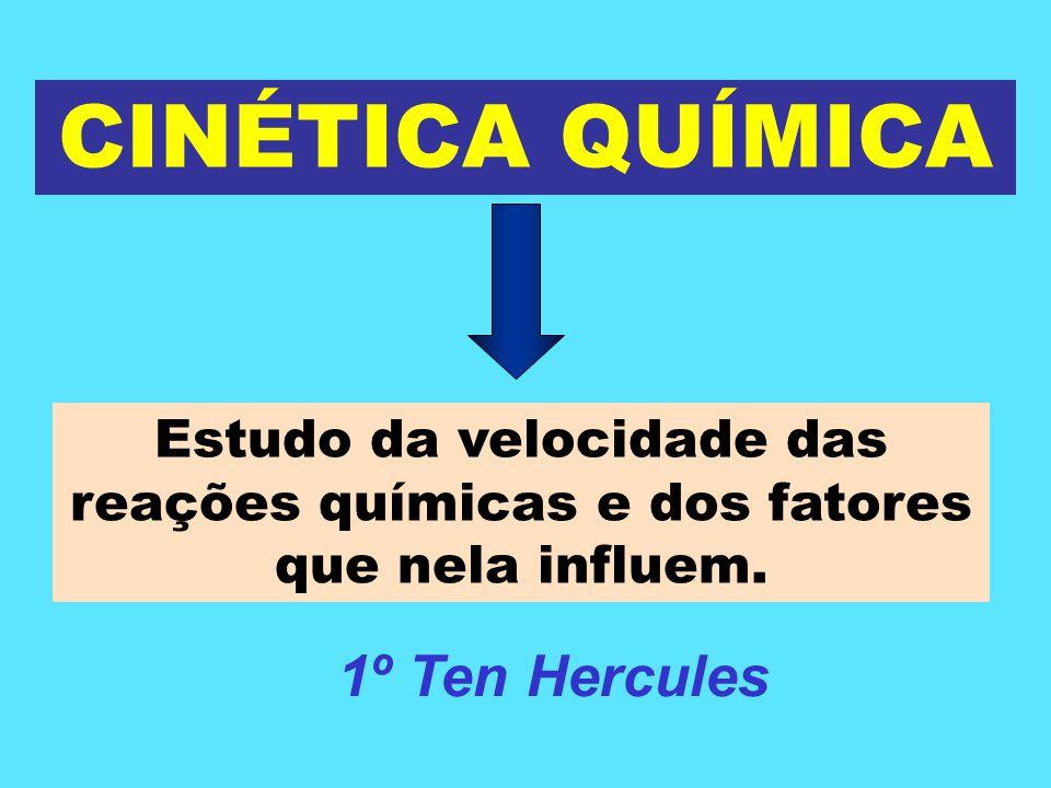 CINÉTICA QUÍMICA 1º Ten Hercules