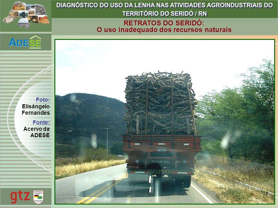 O uso inadequado dos recursos naturais