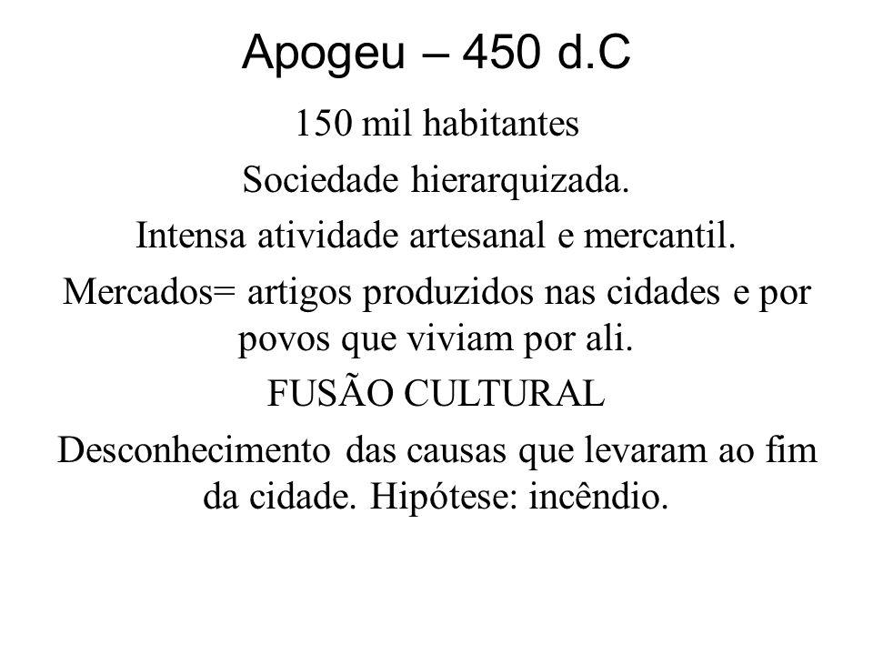 Apogeu – 450 d.C