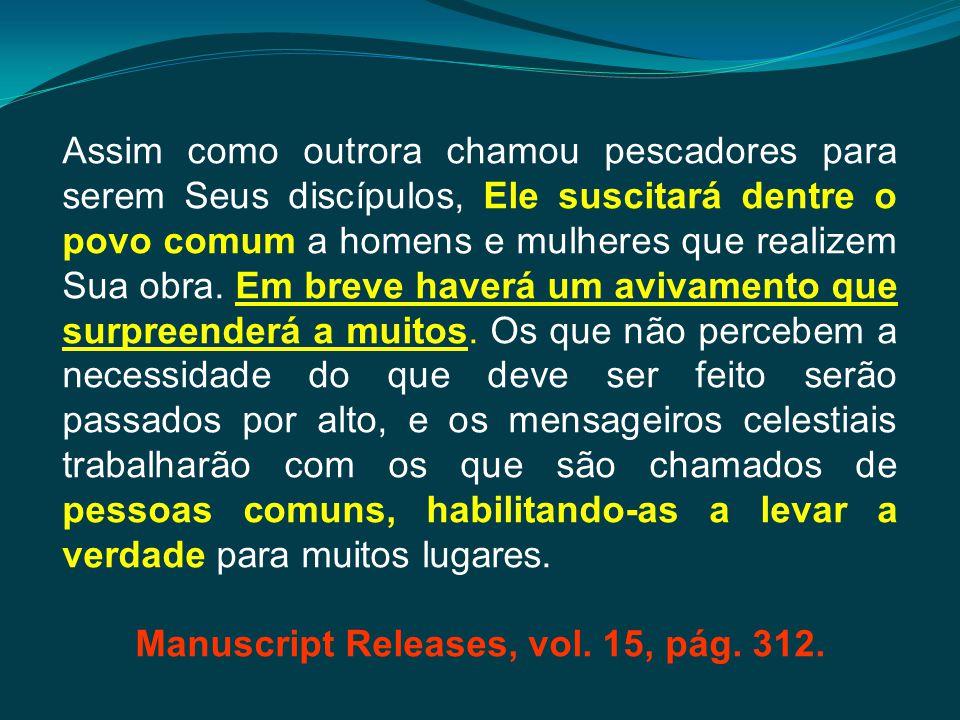 Manuscript Releases, vol. 15, pág. 312.