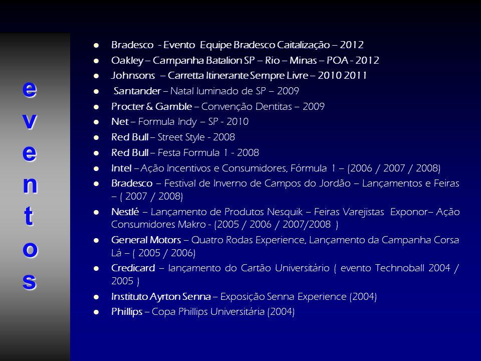 eventos Bradesco - Evento Equipe Bradesco Caitalização – 2012
