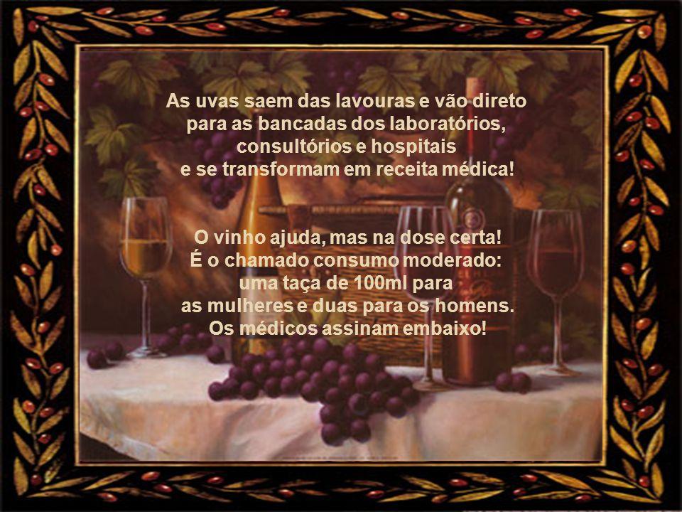 As uvas saem das lavouras e vão direto