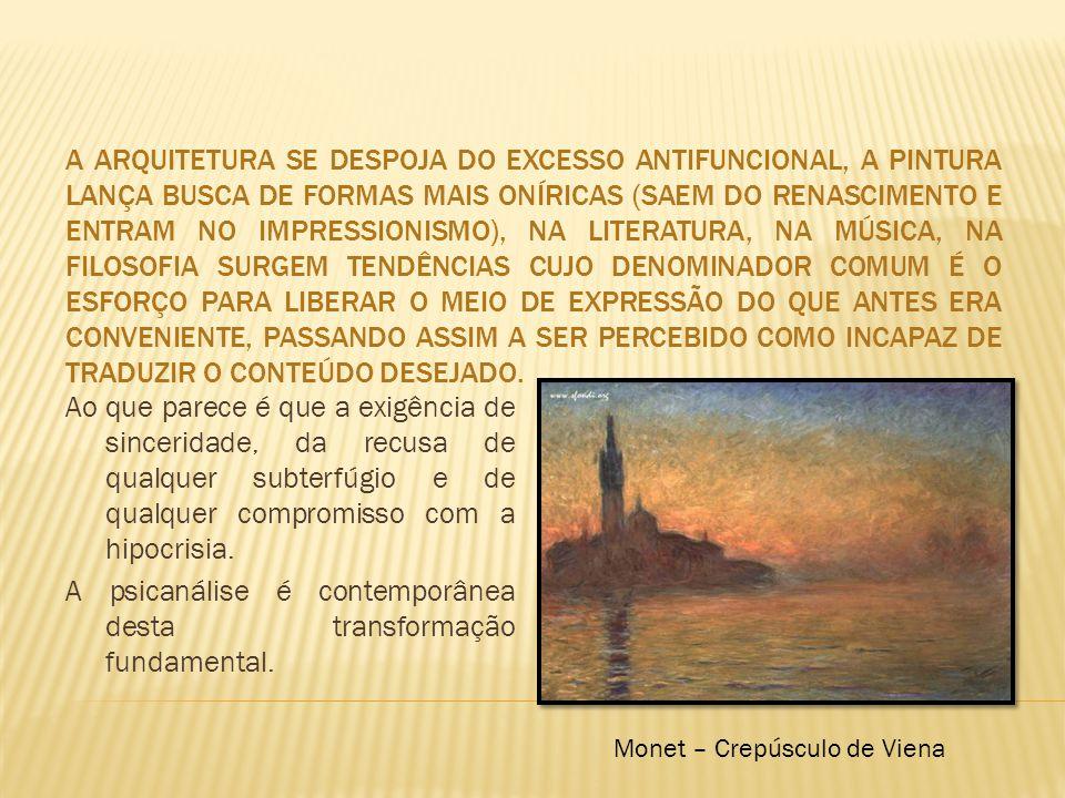 Monet – Crepúsculo de Viena