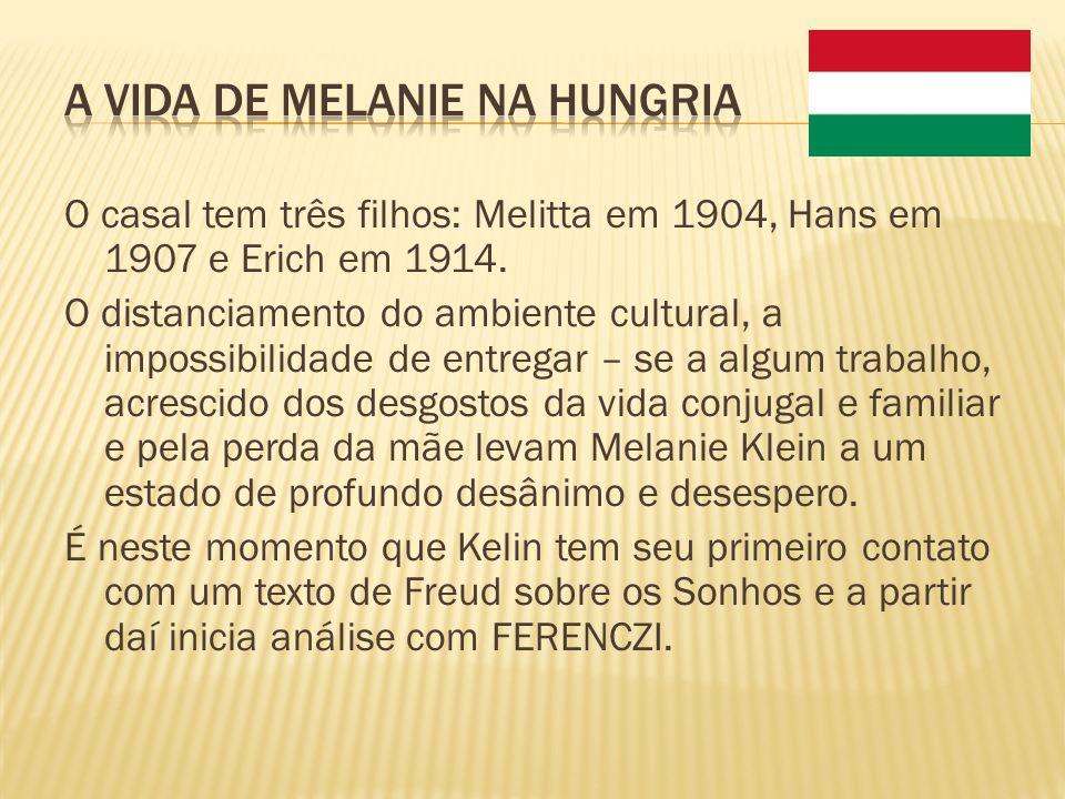 A vida de Melanie na Hungria