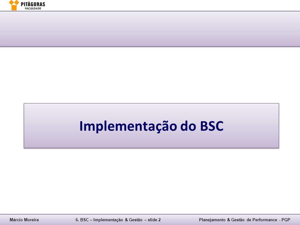 Implementação do BSC
