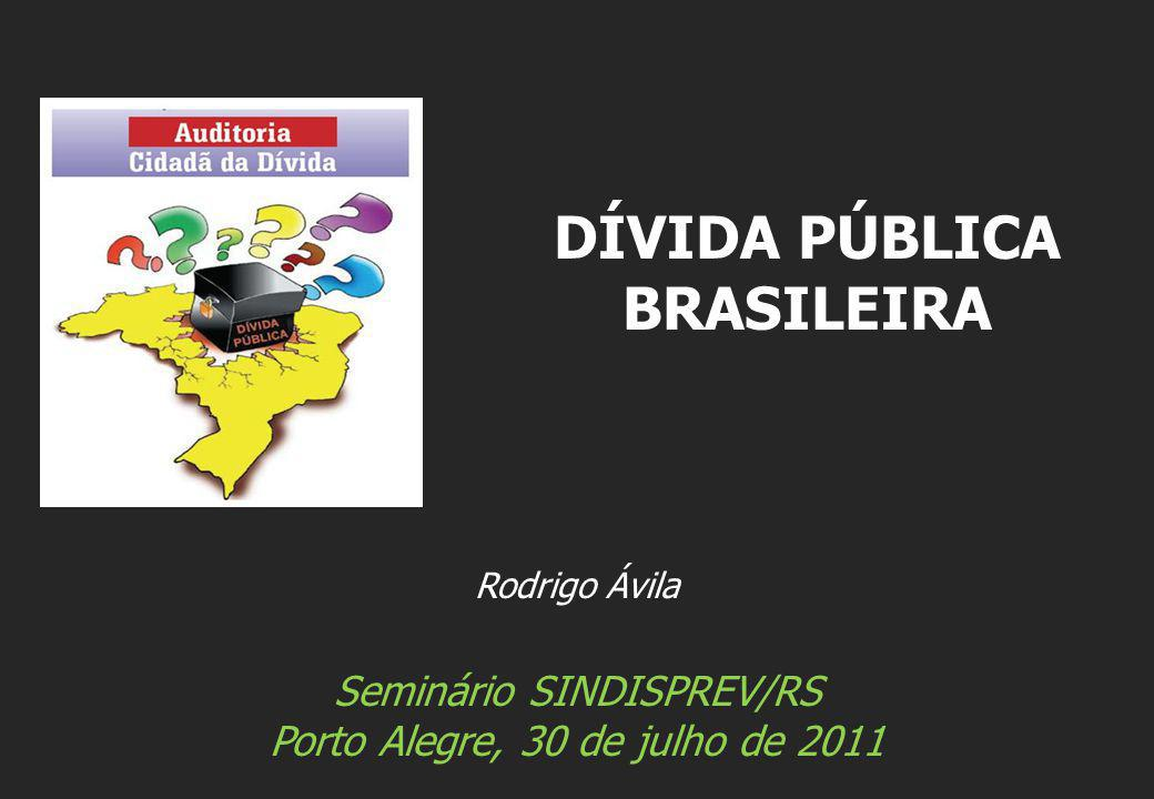 DÍVIDA PÚBLICA BRASILEIRA
