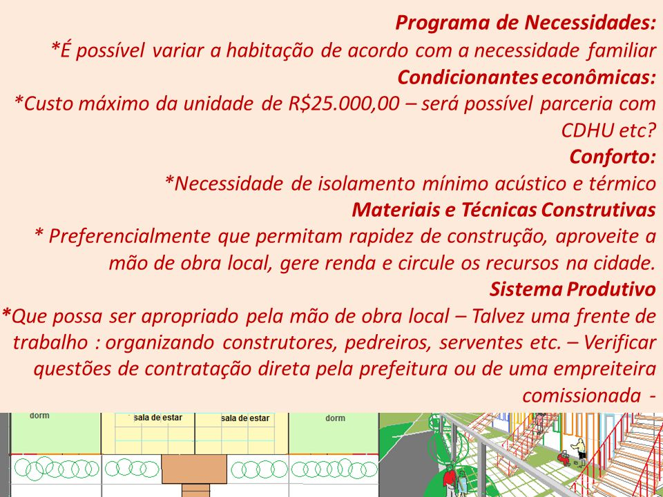 Programa de Necessidades: