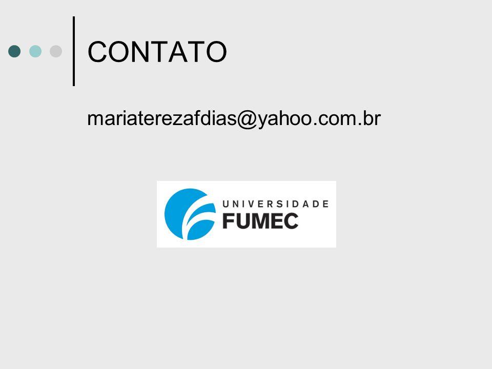 CONTATO mariaterezafdias@yahoo.com.br