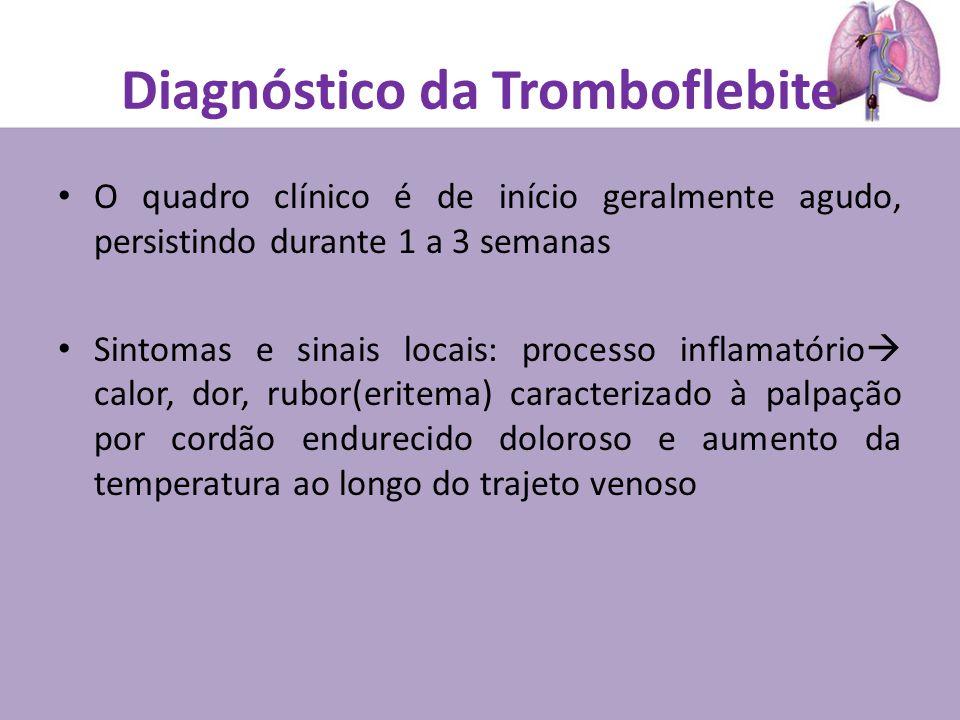 Diagnóstico da Tromboflebite
