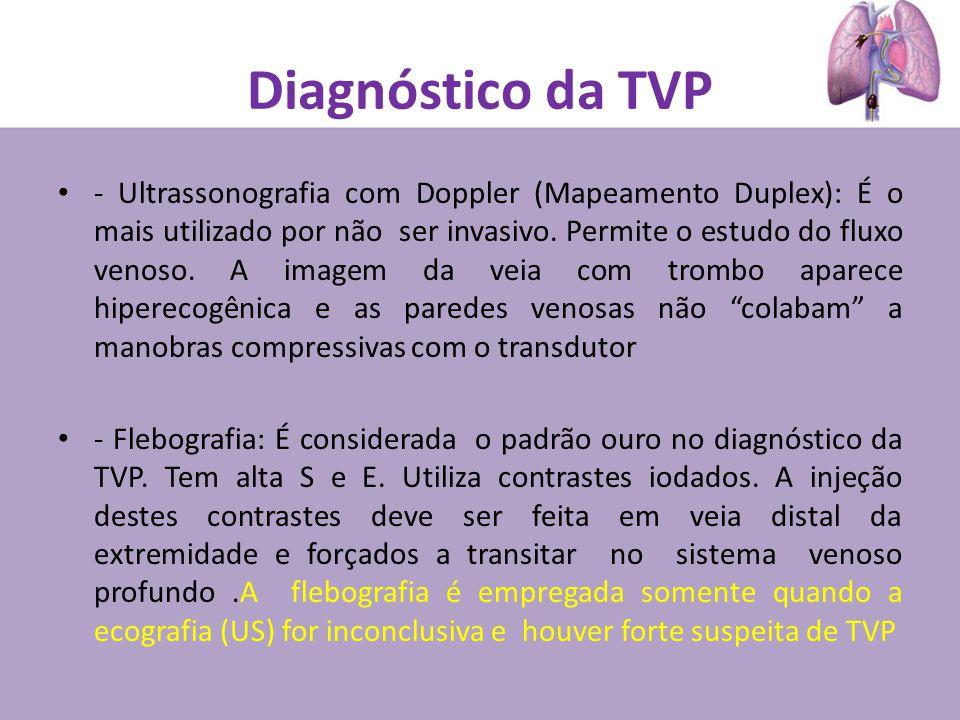 Diagnóstico da TVP