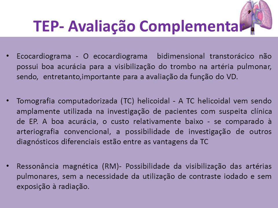 TEP- Avaliação Complementar