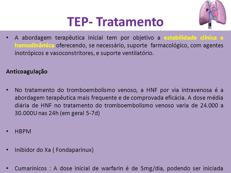 TEP- Tratamento