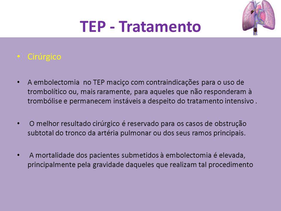 TEP - Tratamento Cirúrgico