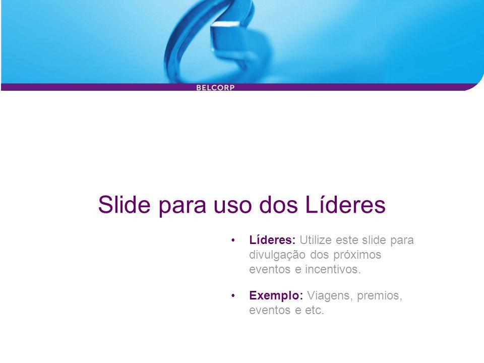 Slide para uso dos Líderes