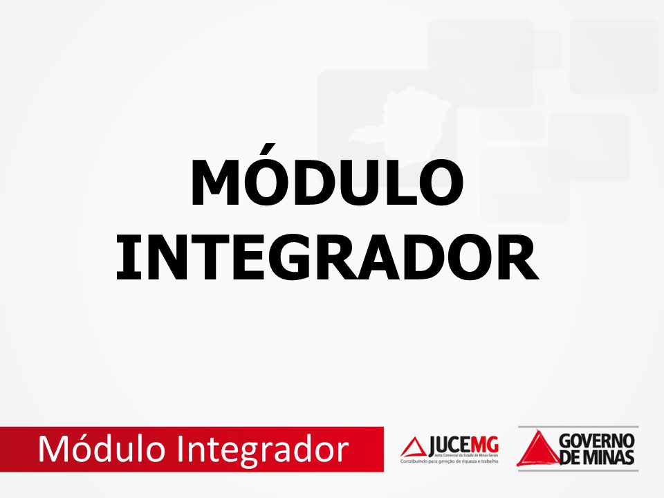 MÓDULO INTEGRADOR Módulo Integrador