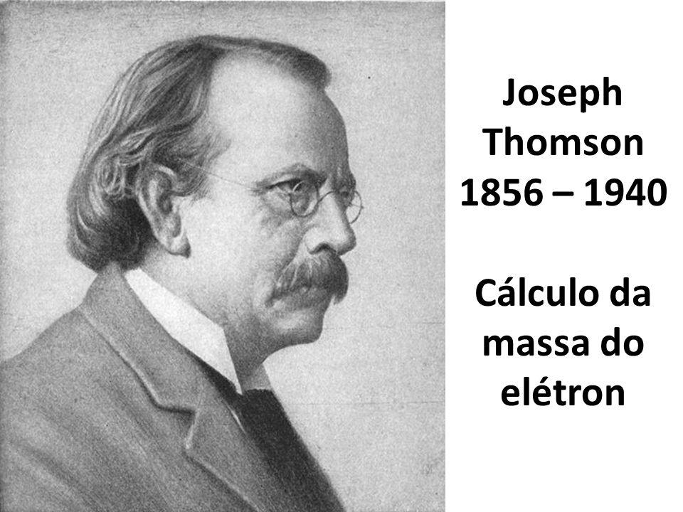 Cálculo da massa do elétron