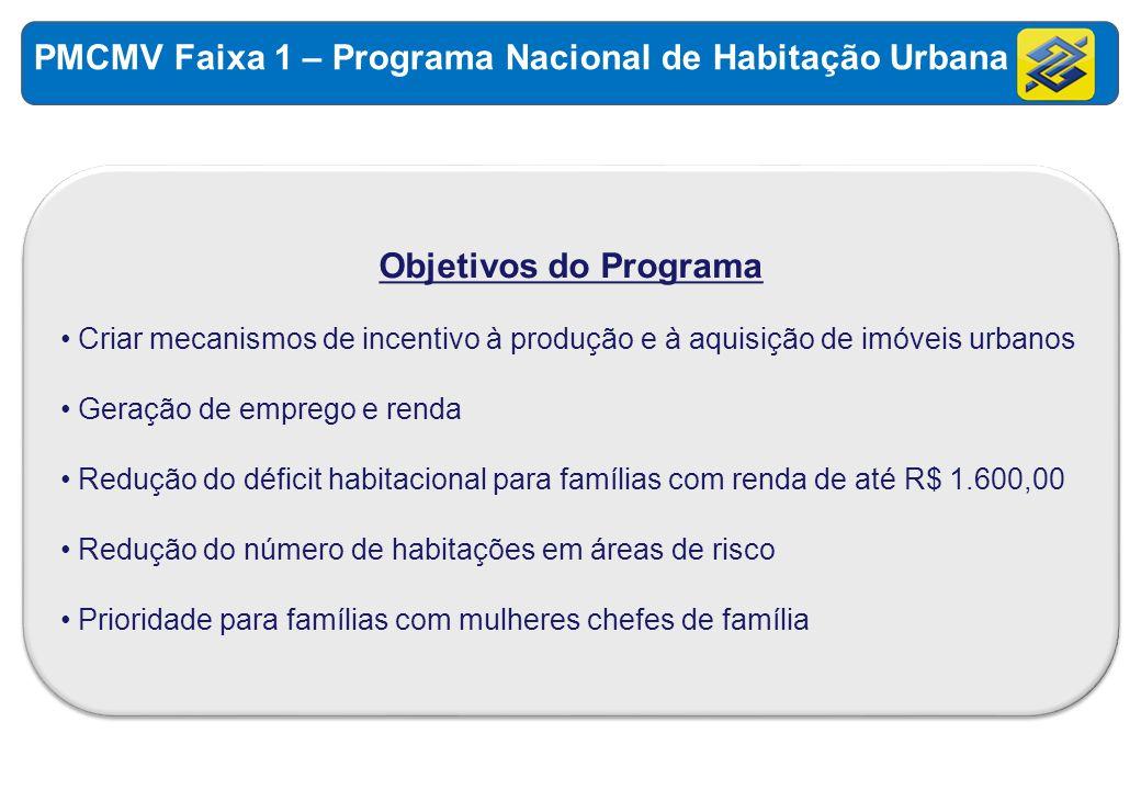 PMCMV Faixa 1 – Programa Nacional de Habitação Urbana